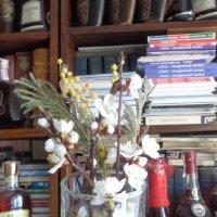Бокал, наполненный цветами, мечтает о другом наполнении!!... :: Алекс Аро Аро