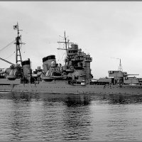 "I.J.N. heavy cruiser ""Ashigara"" prior to the Spithead Coronation Fleet Review, May 19th 19 :: Александр"