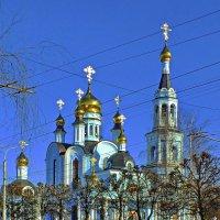 Апрель. Храм св. Татияны. :: Михаил Николаев