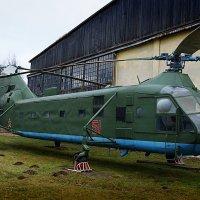 Як-24 Тяжёлый десантно-транспортный вертолёт :: san05 -  Александр Савицкий