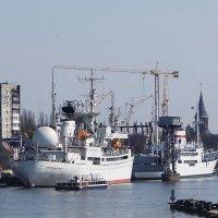 На территории музея Мирового океана идёт строительство новых объектов :: Маргарита Батырева