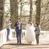Весенняя свадьба в городе фонтанов. :: bajguz igor