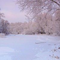 Утренний мороз на реке :: Александр Бойченко