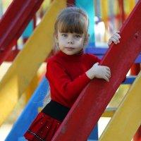 На детской площадке :: Сергей Удовенко