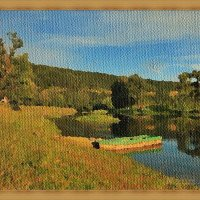 Лодка на пруду :: Лидия (naum.lidiya)