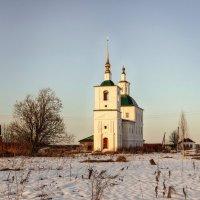 Церковь Николая Чудотворца В Комарице. :: Андрей Дурапов