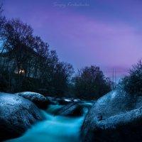 Ночная река :: Sergiy Korkulenko
