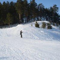 Вниз на сноуборде :: Олег Афанасьевич Сергеев