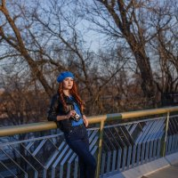 Закат на мосту :: Анастасия Адамович