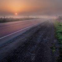 Туман,рассвет :: Солнечная Лисичка =Дашка Скугарева