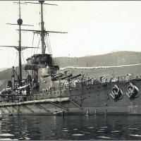 "Austro-Hungarian battleship SMS ""Viribus Unitis"" in 1913. :: Александр"