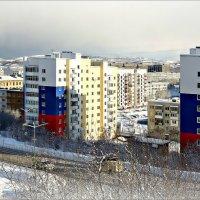 Арктика. Снежный заряд идёт... :: Кай-8 (Ярослав) Забелин