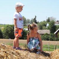 Дети в деревне :: Вячеслав Маслов