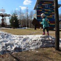 Немножко  Зима,оставила  детям  снежка! :: Eva Tisse