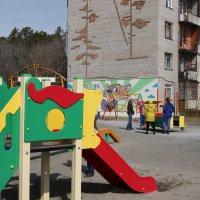 Детская площадка :: Олег Афанасьевич Сергеев