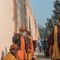 Индия, Бодхгая, храм Махабодхи :: Ирина Малышева