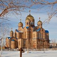 Строительство собора. Новокуйбышевск. Самарская область :: MILAV V