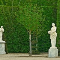 скульптуры Версальского парка :: Александр Корчемный