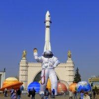 Космонавт или инопланетянин? :: Татьяна Лобанова