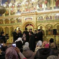 Хор «Фомадес» Святого Афона (Греция)  Регент — иеромонах старец Филипп :: Анна Воробьева