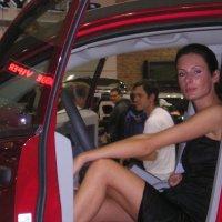 девушка в машине :: Димончик
