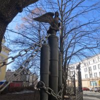 ограда Преображенского собора :: Елена