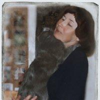 Автопортрет с котом :: Наталья Ильина