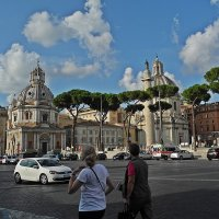 Тёплый ноябрь в Риме! :: Виталий Селиванов