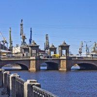 Старо-Калинкин мост. :: Senior Веселков Петр