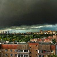 Гроза над Москвой :: Наталия Горюнова