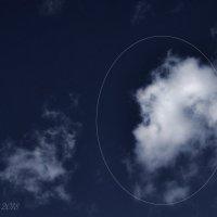 Облако с лицом старухи. :: Елена Kазак