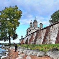 У стен монастыря :: Елена (ANEL-VP) .