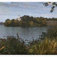 Набережная Днепропетровска, вид на Монастырский остров :: Татьяна Найдёнова