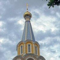 Вершина храмовой колокольни. :: Галина Каюмова