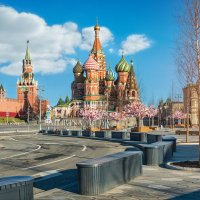 Собор и Парк Зарядье :: Юлия Батурина
