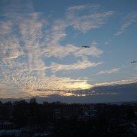 Причудливые облака на закате :: Syntaxist (Светлана)