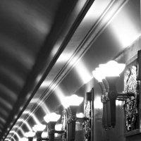 Графика Питерского метро. :: Марина Харченкова
