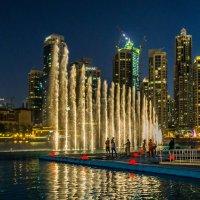 Дубай. Поющий фонтан. :: Павел © Смирнов