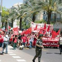 Первомайская демонстрация в Израиле! :: Aleks Ben Israel