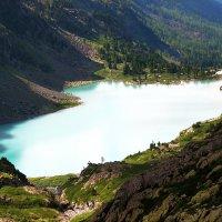 Озеро Куйгук... :: Dmitry Saltykov