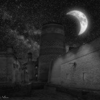 Узбекистан. Прогулки по Хиве лунной ночью :: Андрей Левин