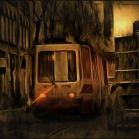 Шёл трамвай 30 номер :: Татьяна Смирнова
