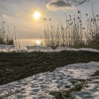 Вечер на Нововоронежском водохранилище :: Юрий Клишин