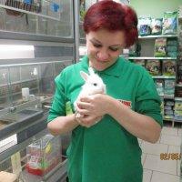 я с кроликом :: Зинаида