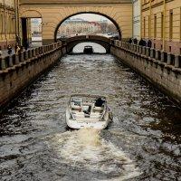 Зимняя канавка :: Юрий Слепчук