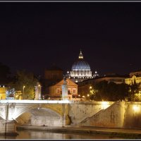 Рим. Ночной вид на Ватикан. :: Николай Панов