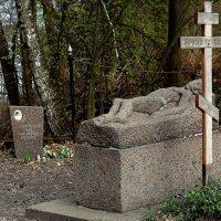 Мусатовский косогор. Здесь похоронен талантливый художник В.Э. Борисов-Мусатов (1870-1905) :: Татьяна Помогалова