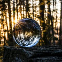 glass ball and sun :: Dmitry Ozersky