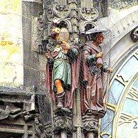 Фрагмент знаменитых курантов Праги. :: Владимир Драгунский
