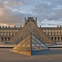 The Pyramid of Louvre :: Roman Ilnytskyi
